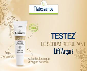 Léa Nature offre 100 sérums Lift'Argan !