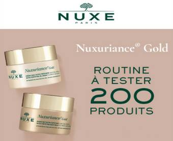200 soins anti-âge Nuxe offerts !