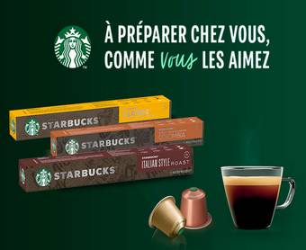 SAMPLEO : 2000 packs Starbucks offerts