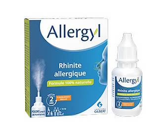 30 sprays Allergyl offerts en test