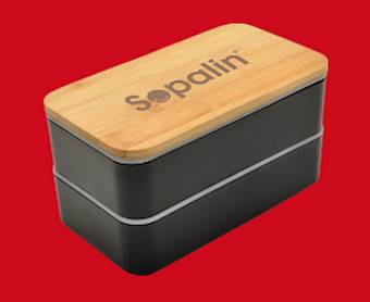 350 lunch-box Sopalin gratuites