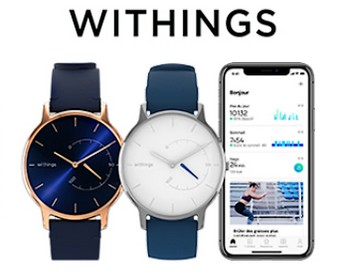 A gagner : des montres WITHINGS
