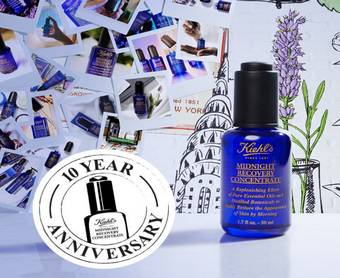 Kiehl's vous offre 5 soins de nuit Midnight Recovery