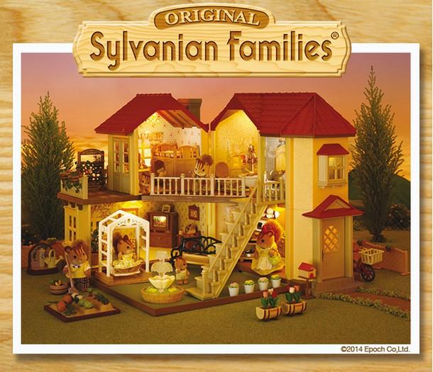 jeu enfant 10 maisons sylvanian families gagner. Black Bedroom Furniture Sets. Home Design Ideas