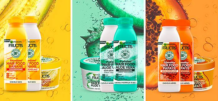 Sampleo offre des box Fructis Hair Food