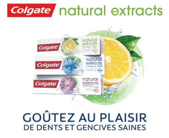 Grand test Colgate Natural Extracts : testez gratuitement des dentifrices !
