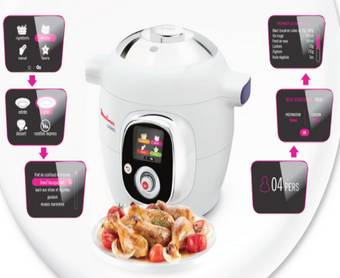 A gagner : 3 cuiseurs Moulinex Cookeo !