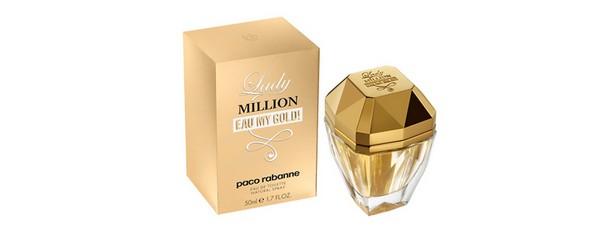 echantillon gratuit parfum lady million eau my gold paco. Black Bedroom Furniture Sets. Home Design Ideas