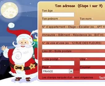 Carte postale pere noel gratuite