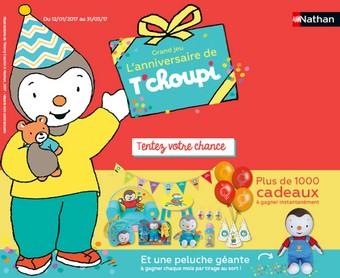 Jeu Anniversaire T Choupi 1000 Cadeaux à Gagner