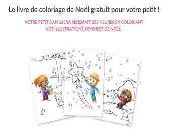 Gratuit Livre De Coloriage De Noel Personnalise