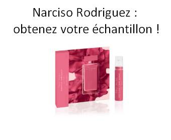 GratuitÉchantillon Fleur Rodriguez Parfum Narciso Musc UMVGqzSp