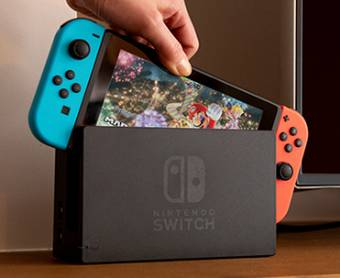 En jeu : Console Nintendo Switch