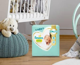 3000 kits Pampers offerts