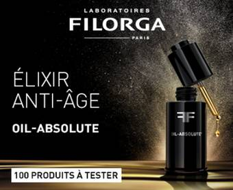 Sérum Oil Absolute Filorga : 100 gratuits à tester
