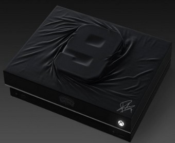 Console Xbox One X customisée Tony Parker offerte